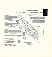 Cunningham's Replat of Kenwood Park, King County 1945 Vols 1 and 2